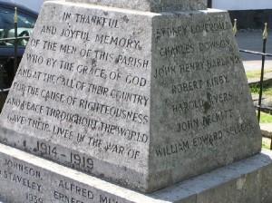 Charles Dowson Memorial