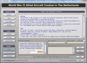 AirWarWWII Application About