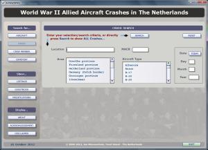 AirWarWWII Application Crash Search