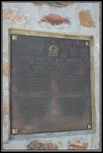 Elrose Saskatchewan War Memorial