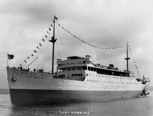 Lady Hawkins - Canadian Steam Passenger Ship