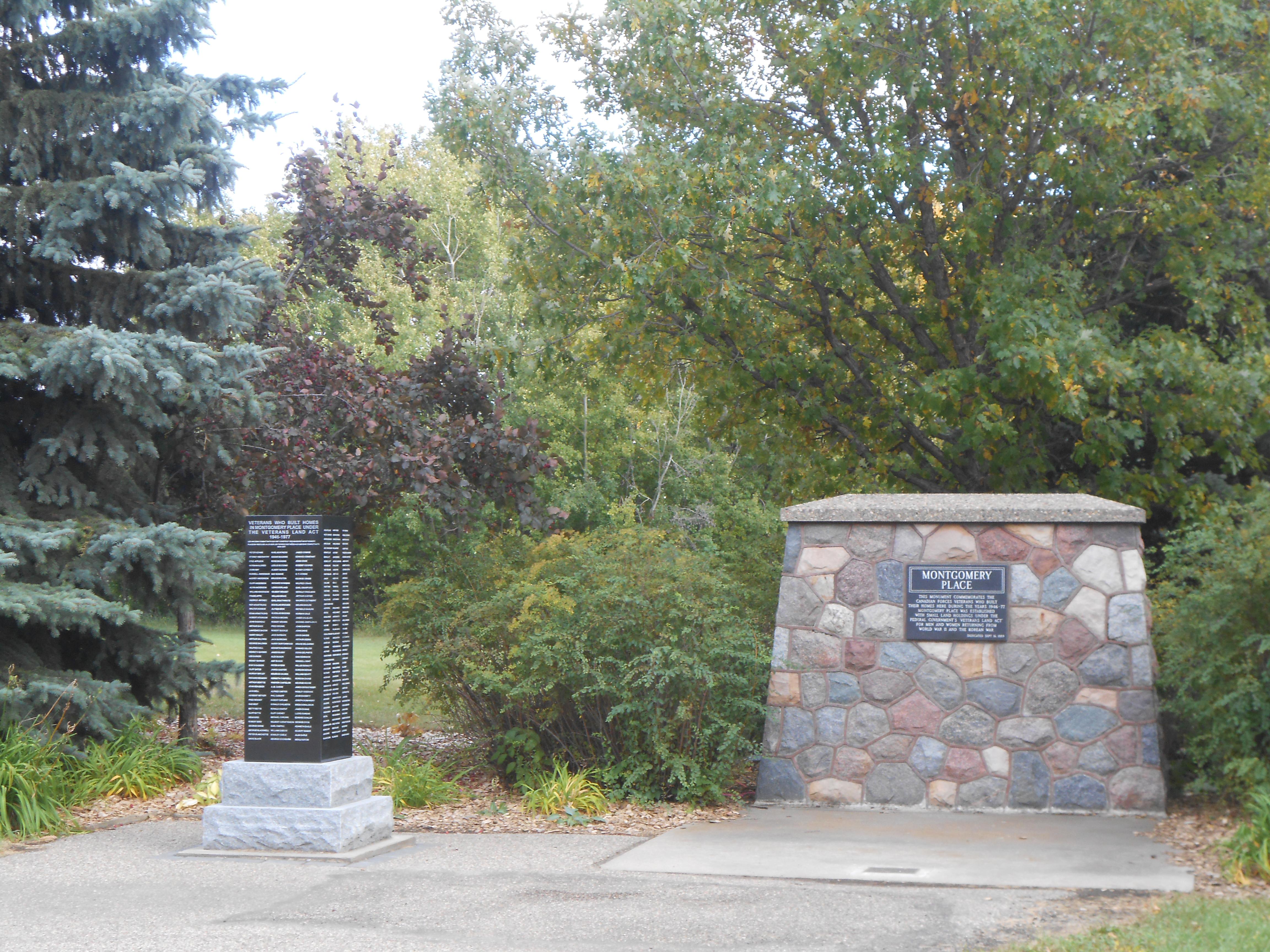 Montgomery Place Monuments, Saskatoon, Saskatchewan
