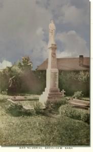 War Memorial Broadview Sask