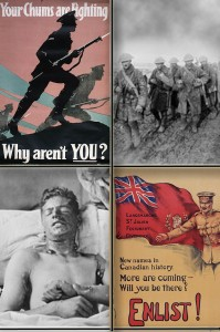 Library and Archives Canada images on Flickr. Set of images: Canada and the First World War