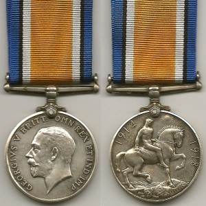 British War Medal World War One