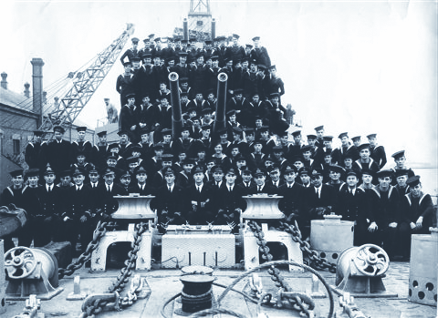 Crew of the HMCS Athabascan