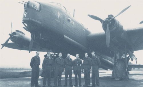 WP Hamilton and Crew with Their Bomber