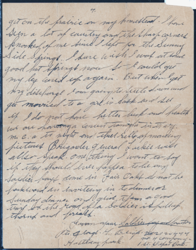 A Soldier's Letter Home - Page 4
