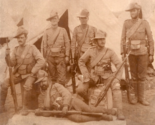 Canadians on the Veldt, South Africa