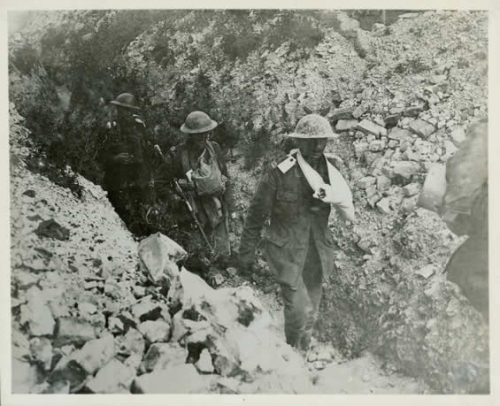 After a Trench Raid